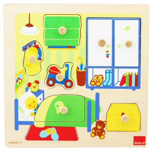Puzzle Chambre de l'enfant