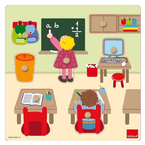 Puzzle École