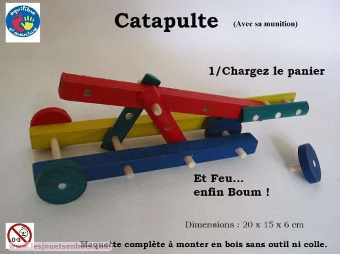 Catapulte Couleur