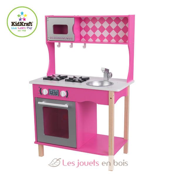 kidkraft 53343 cuisine sweet sorbet jolie cuisine en bois pour enfant. Black Bedroom Furniture Sets. Home Design Ideas