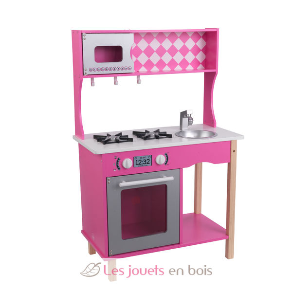 kidkraft 53343 cuisine sweet sorbet jolie cuisine en bois pour enfant. Black Bedroom Furniture Sets. Home Design Ideas