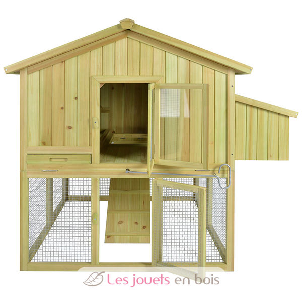 poulailler pour 3 poules un poulailler en bois esschert design ch001. Black Bedroom Furniture Sets. Home Design Ideas