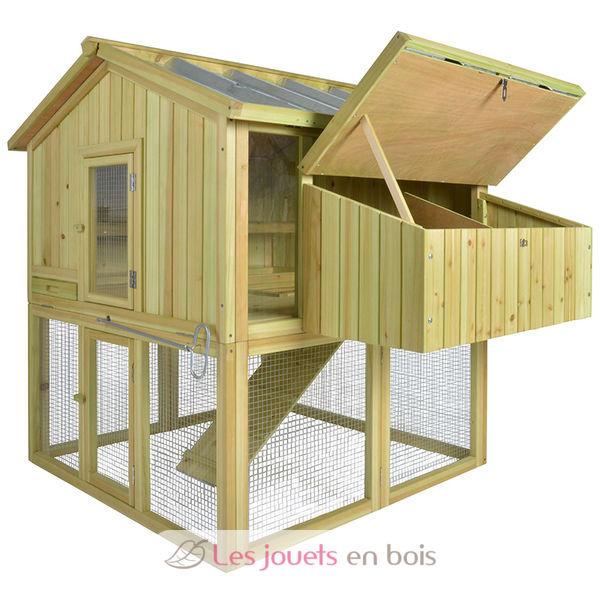 poulailler pour 3 poules un poulailler en bois esschert. Black Bedroom Furniture Sets. Home Design Ideas