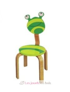 petite chaise grenouille en bois de la marque nino ideas tr003286 une chaise originale pour enfant. Black Bedroom Furniture Sets. Home Design Ideas