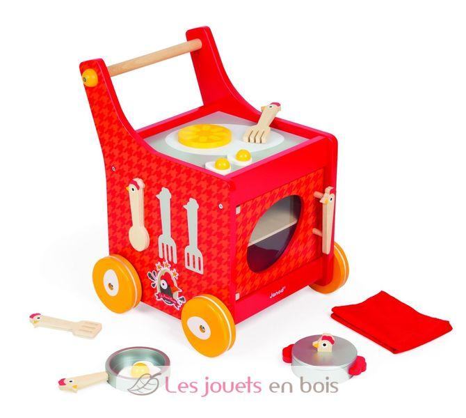 chariot de cuisine the french cocotte - janod j06544