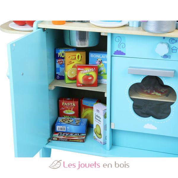 cuisine dans les nuages cuisine en bois de la marque vilac ref 8107. Black Bedroom Furniture Sets. Home Design Ideas