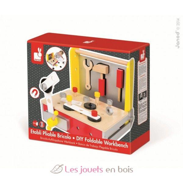 Luge En Bois Pliable : Etabli pliable Bricolo Redmaster, un ?tabli et ses outils en bois de