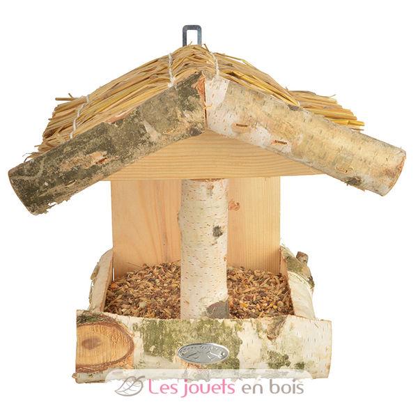 mangeoire pour oiseaux en bois de bouleau esschert design. Black Bedroom Furniture Sets. Home Design Ideas