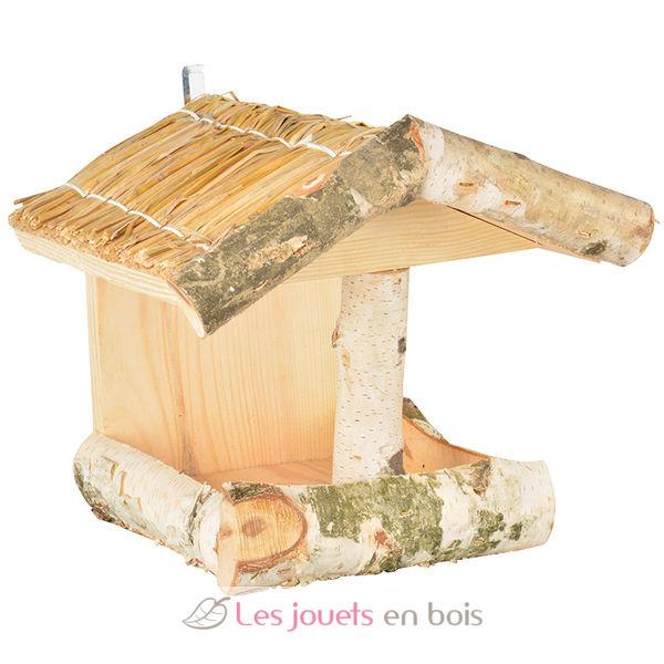 mangeoire pour oiseaux en bois de bouleau esschert design fb312. Black Bedroom Furniture Sets. Home Design Ideas