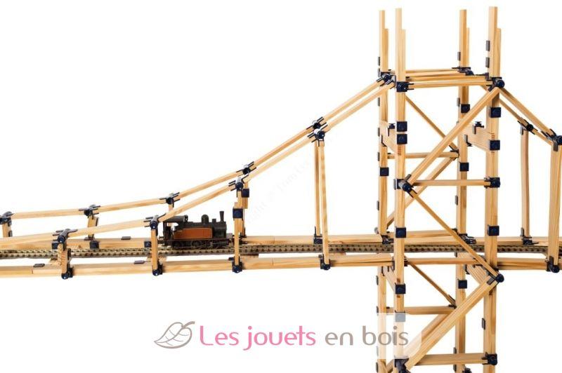 Coffret tomtect 1000 l ments est un jeu de construction tr s motivant et attractif for Construction en bois var