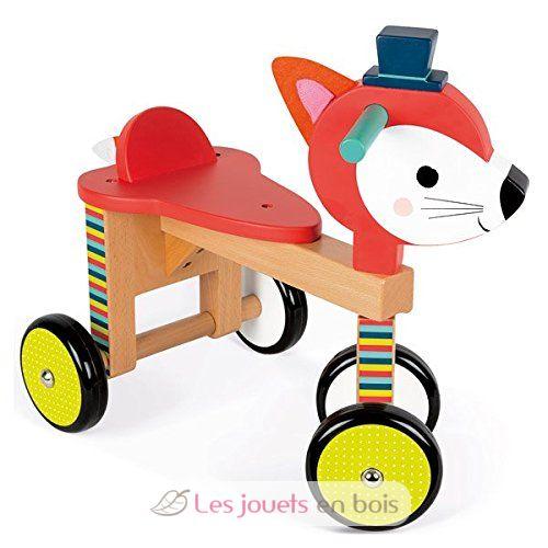 Porteur renard en bois, le cadeau idéal que ce porteur Janod en bois ~ Porteur En Bois Janod