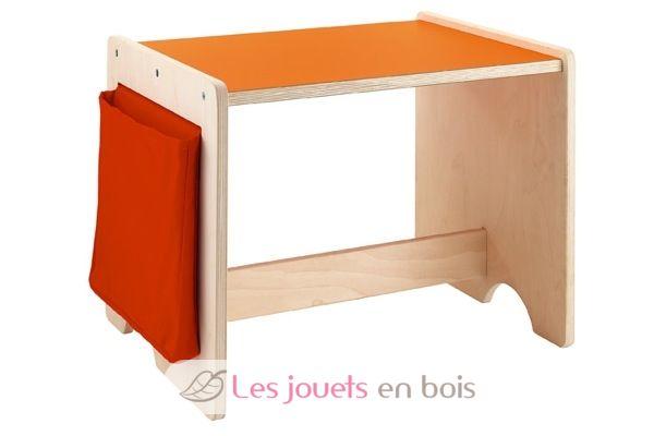 bureau enfant en bois sur le th me des ours sevi r f 82572. Black Bedroom Furniture Sets. Home Design Ideas
