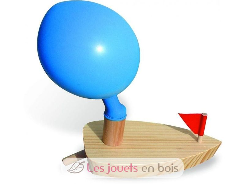 bateau ballon quel cadeau original que ce bateau en bois vilac. Black Bedroom Furniture Sets. Home Design Ideas