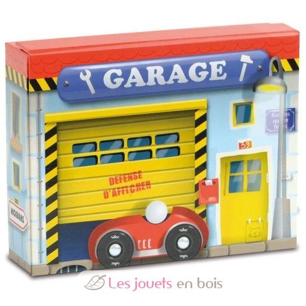 Garage En Bois Vilac : Coffret de garage – Vilac 2366, un coffret au d?cor de garage ?