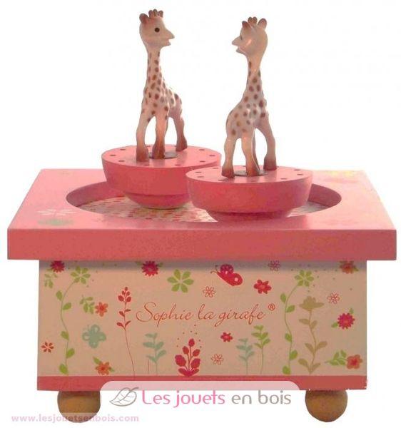 boite musique sophie la girafe s95061 un man ge. Black Bedroom Furniture Sets. Home Design Ideas