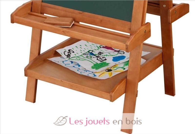chevalet r glable en bois kidkraft 62008 tableau pour. Black Bedroom Furniture Sets. Home Design Ideas