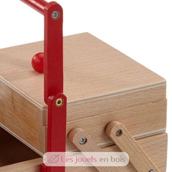 Bo te couture en bois pour enfant goki 51918 for Boite a couture pour enfant