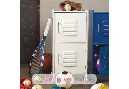 casier de rangement blanc kidkraft du mobilier de pour chambre d 39 enfants. Black Bedroom Furniture Sets. Home Design Ideas