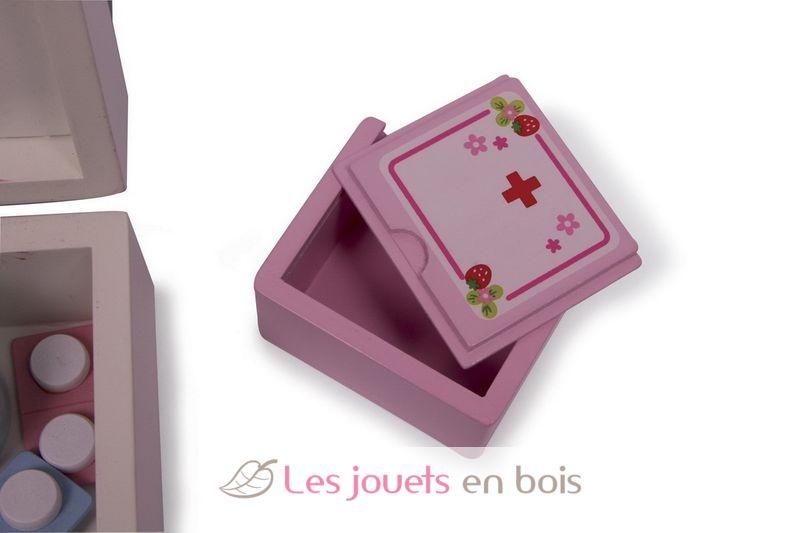 Malette de linfirmiere ou valise de docteur pour enfant, un jouet en  ~ Malette Docteur En Bois