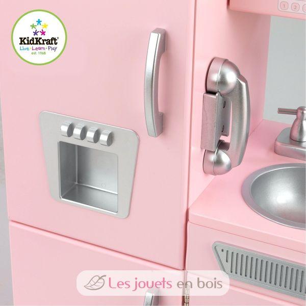 frigo rose vintage les ustensiles de cuisine. Black Bedroom Furniture Sets. Home Design Ideas