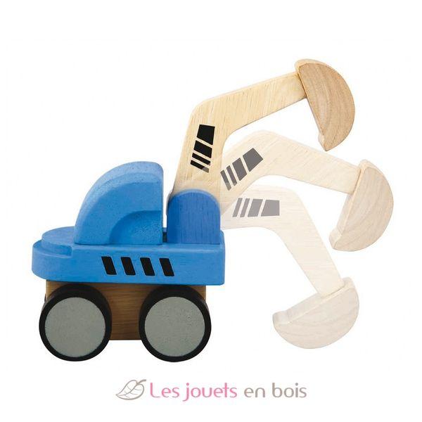 Pelleteuse en bois de 18cm pour enfant pelleteuse bois for Pelleteuse jouet exterieur