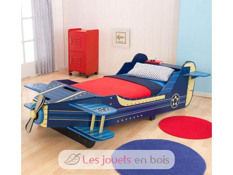 lit avion enfant kidkraft 76277 un meuble en bois pour chambre d 39 enfant. Black Bedroom Furniture Sets. Home Design Ideas