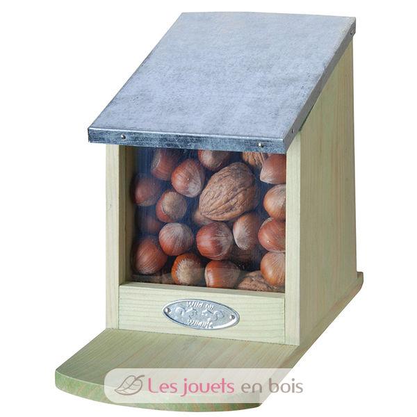mangeoire pour cureuils mangeoire en bois esschert design wa09. Black Bedroom Furniture Sets. Home Design Ideas