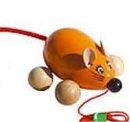 Lisa La souris orange