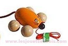 Lisette Mini souris orange
