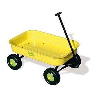 Chariot Métal plein air jaune