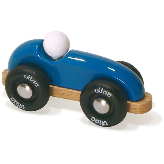 Voiture de course bolide bleu
