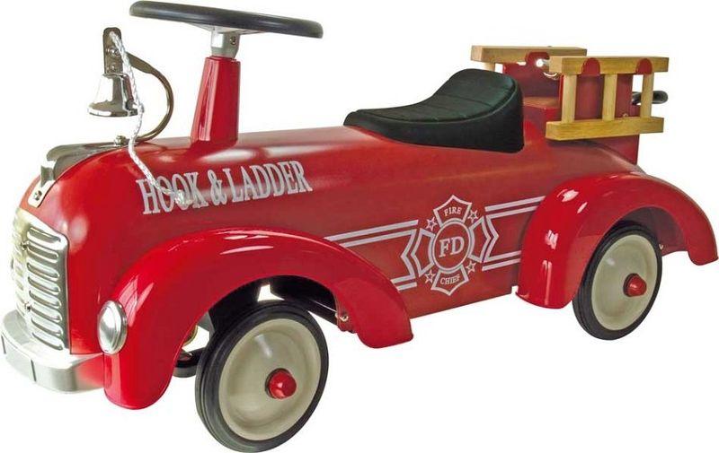 Porteur camion de pompiers en métal