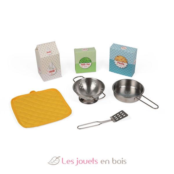 Cuisine happy day janod 06564 cuisine en bois pour enfant for Cuisine happy day janod