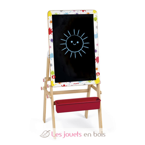 bureau modulable 2 en 1 splash janod 09609 table dessin pour enfant. Black Bedroom Furniture Sets. Home Design Ideas