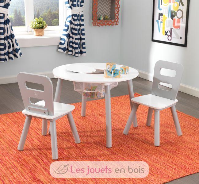 26166 Kidkraft Table Ronde Et Ses Deux Chaise
