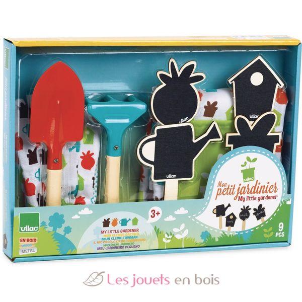 Mon petit jardinier vilac 3805 set de jardinage pour enfant - Tablier jardinage enfant ...