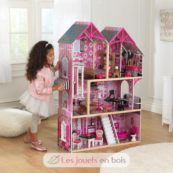 maison de poup es bella kidkraft 65944 maison de poup es. Black Bedroom Furniture Sets. Home Design Ideas