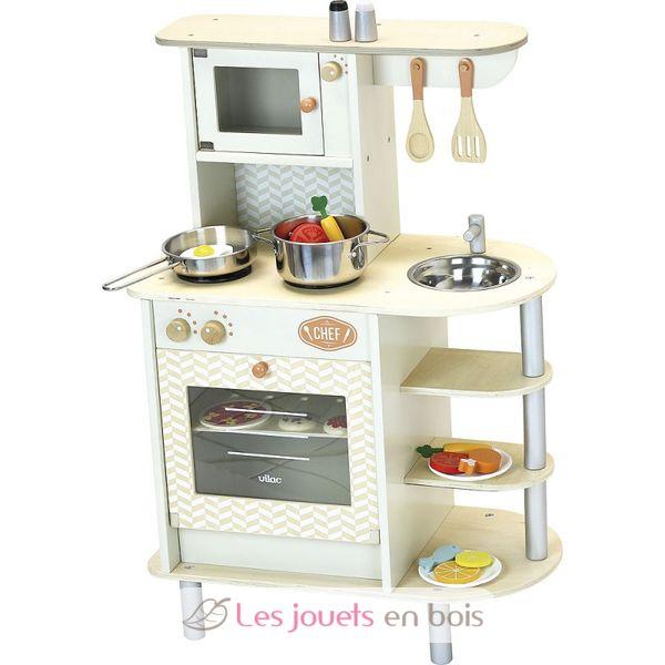 Cuisine Du Chef Vilac 8110 Cuisine En Bois Pour Enfant