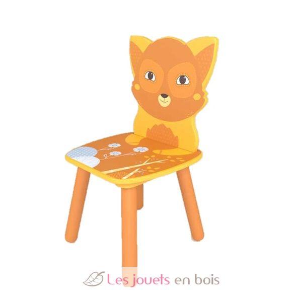 0ac45c847c7b8e Chaise forêt Renard - Ulysse 9026 - Chaise en bois pour enfant