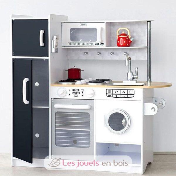 kidkraft 53352 cuisine en bois pepperpot pour enfant. Black Bedroom Furniture Sets. Home Design Ideas
