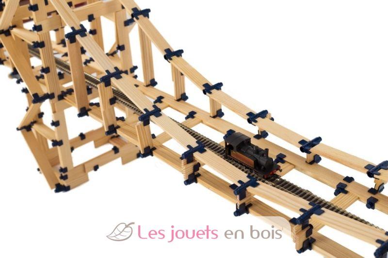 Coffret tomtect 1000 l ments est un jeu de construction tr s motivant et attractif for Construction en bois wiki