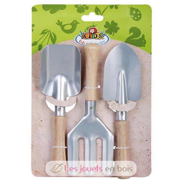 set de jardinage enfants 3 pc des outils pour petits jardiniers esschert design kg107. Black Bedroom Furniture Sets. Home Design Ideas