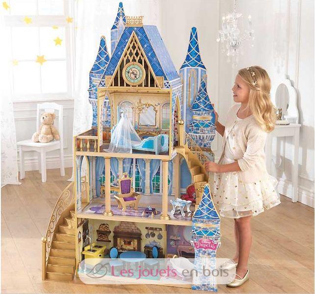 maison de poup e cendrillon disney kidkraft 65400 maison de poup e en bois. Black Bedroom Furniture Sets. Home Design Ideas