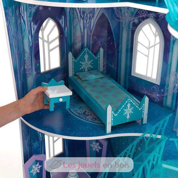 Manoir disney frozen snowflake kidkraft 65880 palais de - Palais de glace reine des neiges ...