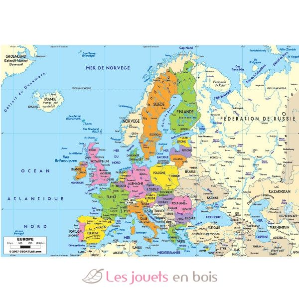Carte Europe Janod.Puzzle En Bois Carte De L Europe Un Puzzle Educatif Michele Wilson