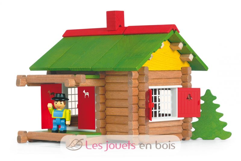 La maison foresti re jeujura un jeu de construction en - Jeu de construction de maison virtuel ...