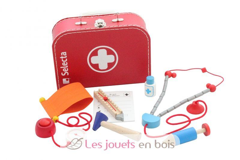 malette de l 39 infirmiere ou valise de docteur pour enfant un jouet en bois. Black Bedroom Furniture Sets. Home Design Ideas