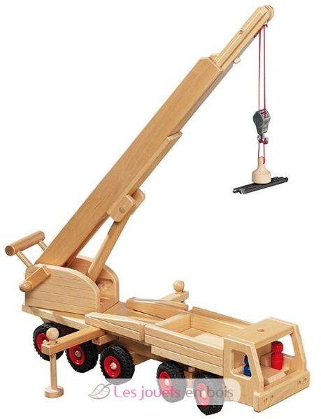 camion grue fagus 1032 un v hicule de chantier en bois le jouet camion grue fagus. Black Bedroom Furniture Sets. Home Design Ideas