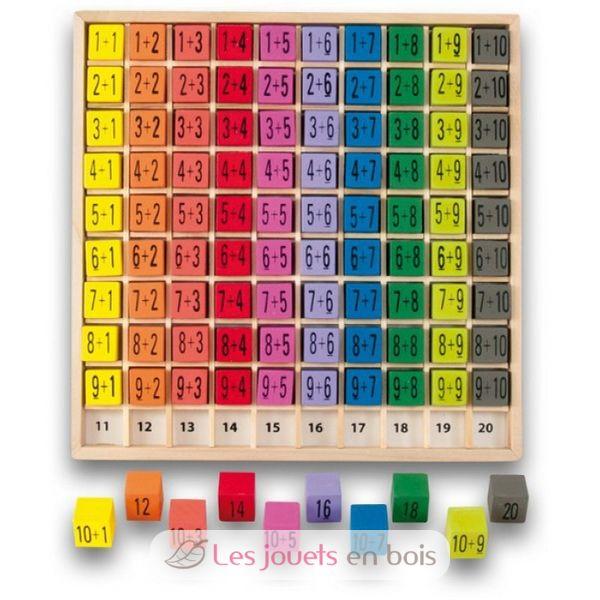 Jeux Et Jouets En Bois Table D 39 Addition En Bois Pour Apprendre Compter