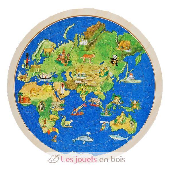 puzzle globe terrestre goki 57666 un puzzle du monde en. Black Bedroom Furniture Sets. Home Design Ideas